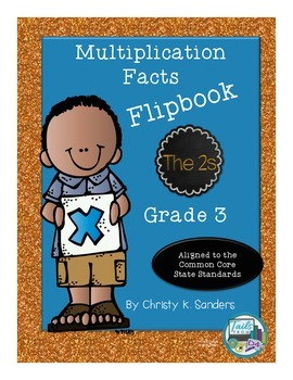 Multiplication Facts Flipbook for Grade 3: The 2s