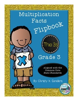 Multiplication Facts Flipbook for Grade 3: The 3s