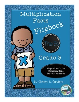 Multiplication Facts Flipbook for Grade 3: The 5s