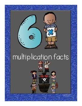 Multiplication Facts Flipbook for Grade 3: The 6s