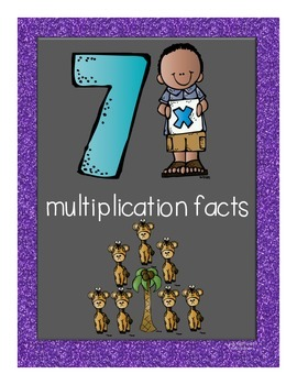 Multiplication Facts Flipbook for Grade 3: The 7s
