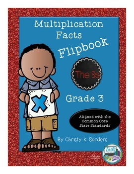 Multiplication Facts Flipbook for Grade 3: The 8s