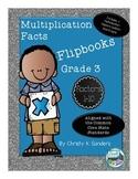Multiplication Facts Flipbooks for Grade 3: Factors 1-10