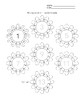 Multiplication Facts Flower worksheet