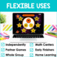 Multiplication Facts Fluency 10's PowerPoint Game