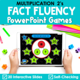 Multiplication Facts Fluency 2's PowerPoint Game