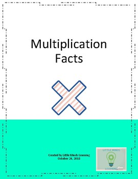 Multiplication Facts Fluency
