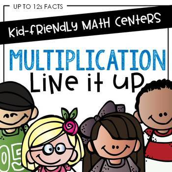 Multiplication Facts Fluency Game: Easy Multiplication Fact Practice through 12s