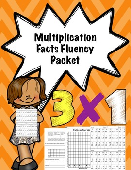 Multiplication Facts Fluency Packet
