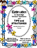 Estimation with Division and Multiplication Tips Foldables