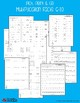 Multiplication Facts Worksheets - Multiplying by 6, 7, 8, 9, or 10