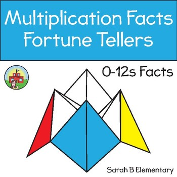 Multiplication Facts Fortune Tellers/Cootie Catchers
