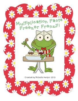 Multiplication Facts Freezer Frenzy