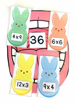 Easter Multiplication Facts Game