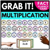 Grab It! Multiplication Facts Game