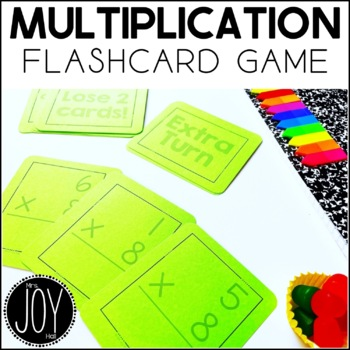 Multiplication Facts Flashcard Game