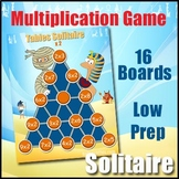 Multiplication Facts Game - Tables Solitaire Game