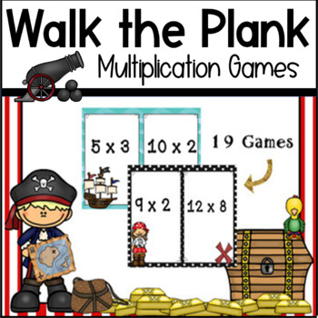 Walk The Plank - Multiplication Game