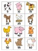 Multiplication Facts Game x5: Down on the Farm (multiply by 5's)
