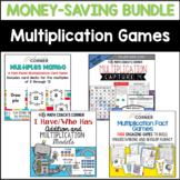 Multiplication Facts Games Bundle