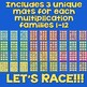 Multiplication Facts Games for 1x1 through 12x12 EASY PREP!!! 1-3 Players!