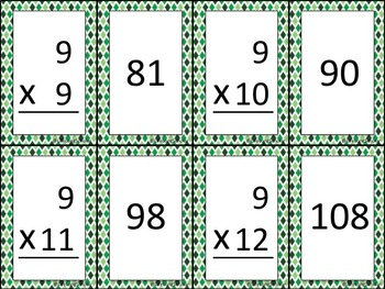 Multiplication Facts Go Fish Game (TEKS 3.4F)