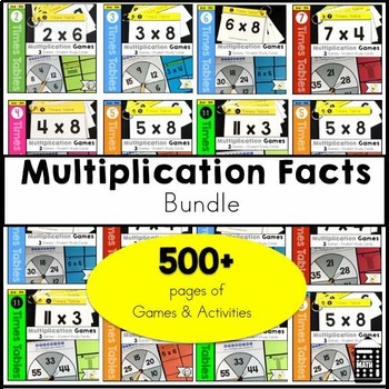 Multiplication Facts Bundle
