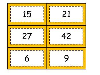 Multiplication Facts:  Honey Pot