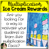Multiplication Facts Ice Cream Rewards Pack