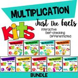 Multiplication Facts Kit {2's - 10's BUNDLE}