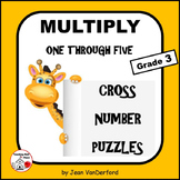 Multiplication 1-5 Tables | Early Finishers| NO PREP | Gr. 2-3 math | Puzzles