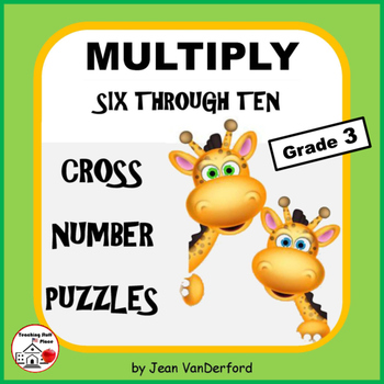 Multiplication Tables 6-10 | Puzzles | MATH | NO Early Fin
