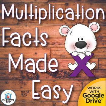 Multiplication Basic Facts Mastery Unit