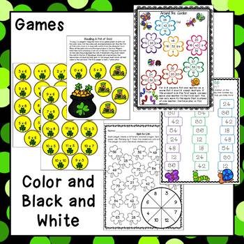 Multiplication Facts - March