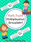 Multiplication Facts Math Fun Learning Bracelets