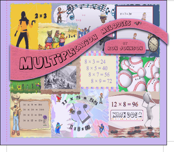 Multiplication Facts - Math Songs - mp3's