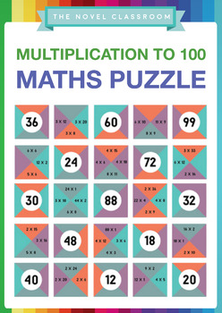 Multiplication Facts Math Puzzle