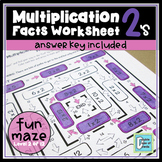 Multiplication Facts Worksheet 2's