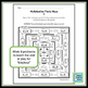 Multiplication Facts Maze 3's