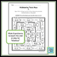 Multiplication Facts Maze 6's