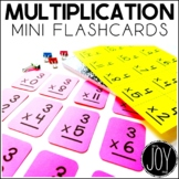 Multiplication Facts Mini Flashcards- Separated by Number Sets