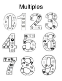 Multiplication Facts, Multiples 0-9