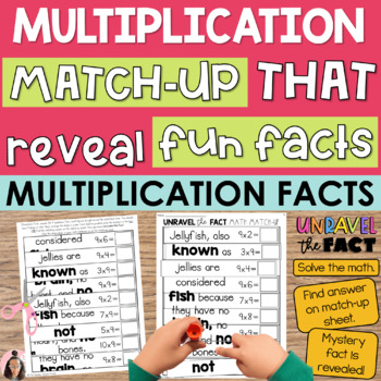Multiplication Facts Games | 3rd Grade Math Centers | Unlock the Fact