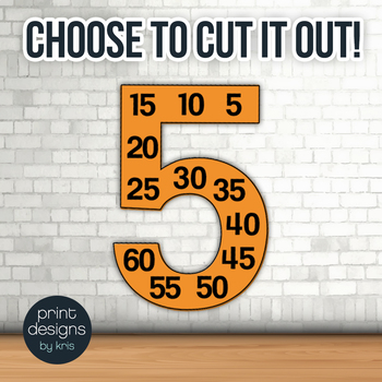 Multiplication Facts Number Posters - FREEBIE