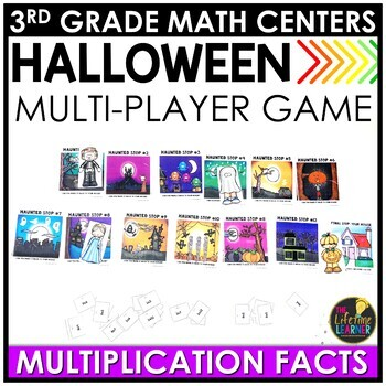 Multiplication Facts Halloween Game