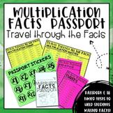 Multiplication Facts Passport