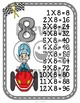 Multiplication Facts Posters Race Cars
