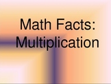 Multiplication Facts PowerPoint