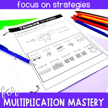 Multiplication Facts Practice Booklets