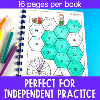 Multiplication Facts Practice Booklets | Distance Learning